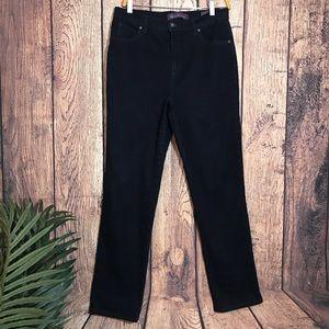 Gloria Vanderbilt Amanda Jeans 10 Dark Blue